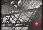 Image of Elevator ascending Eiffel Tower Paris France, 1900, second 10 stock footage video 65675040584