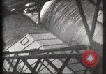 Image of Elevator ascending Eiffel Tower Paris France, 1900, second 11 stock footage video 65675040584