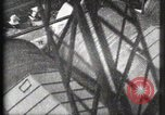 Image of Elevator ascending Eiffel Tower Paris France, 1900, second 13 stock footage video 65675040584