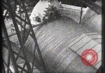 Image of Elevator ascending Eiffel Tower Paris France, 1900, second 16 stock footage video 65675040584