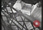 Image of Elevator ascending Eiffel Tower Paris France, 1900, second 19 stock footage video 65675040584