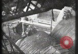 Image of Elevator ascending Eiffel Tower Paris France, 1900, second 21 stock footage video 65675040584
