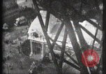 Image of Elevator ascending Eiffel Tower Paris France, 1900, second 26 stock footage video 65675040584