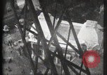 Image of Elevator ascending Eiffel Tower Paris France, 1900, second 27 stock footage video 65675040584