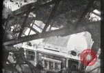 Image of Elevator ascending Eiffel Tower Paris France, 1900, second 33 stock footage video 65675040584