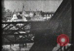 Image of Elevator ascending Eiffel Tower Paris France, 1900, second 43 stock footage video 65675040584