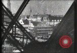 Image of Elevator ascending Eiffel Tower Paris France, 1900, second 52 stock footage video 65675040584