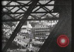 Image of Elevator ascending Eiffel Tower Paris France, 1900, second 55 stock footage video 65675040584