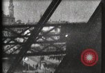 Image of Elevator ascending Eiffel Tower Paris France, 1900, second 56 stock footage video 65675040584