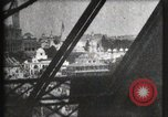 Image of Elevator ascending Eiffel Tower Paris France, 1900, second 57 stock footage video 65675040584