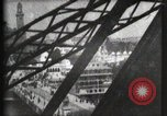 Image of Elevator ascending Eiffel Tower Paris France, 1900, second 59 stock footage video 65675040584