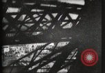 Image of Elevator ascending Eiffel Tower Paris France, 1900, second 61 stock footage video 65675040584