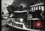 Image of Panorama of Paris Exposition from Seine River Paris France, 1900, second 15 stock footage video 65675040588
