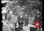 Image of Moving boardwalk Paris France, 1900, second 3 stock footage video 65675040589