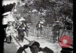 Image of Moving boardwalk Paris France, 1900, second 16 stock footage video 65675040589