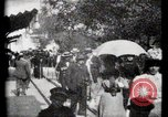 Image of Moving boardwalk Paris France, 1900, second 32 stock footage video 65675040589