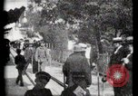 Image of Moving boardwalk Paris France, 1900, second 35 stock footage video 65675040589