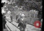 Image of Moving boardwalk Paris France, 1900, second 39 stock footage video 65675040589