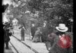 Image of Moving boardwalk Paris France, 1900, second 40 stock footage video 65675040589