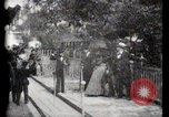Image of Moving boardwalk Paris France, 1900, second 41 stock footage video 65675040589
