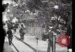 Image of Moving boardwalk Paris France, 1900, second 44 stock footage video 65675040589