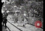 Image of Moving boardwalk Paris France, 1900, second 47 stock footage video 65675040589