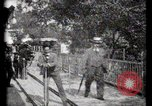 Image of Moving boardwalk Paris France, 1900, second 49 stock footage video 65675040589