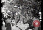 Image of Moving boardwalk Paris France, 1900, second 55 stock footage video 65675040589