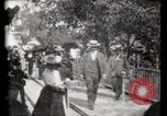 Image of Moving boardwalk Paris France, 1900, second 56 stock footage video 65675040589