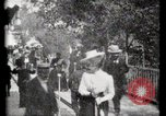 Image of Moving boardwalk Paris France, 1900, second 58 stock footage video 65675040589