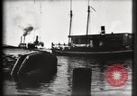 Image of water front Galveston Texas USA, 1900, second 33 stock footage video 65675040602