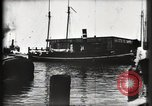 Image of water front Galveston Texas USA, 1900, second 36 stock footage video 65675040602