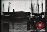Image of water front Galveston Texas USA, 1900, second 40 stock footage video 65675040602