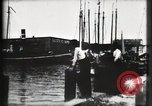 Image of water front Galveston Texas USA, 1900, second 42 stock footage video 65675040602