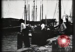 Image of water front Galveston Texas USA, 1900, second 45 stock footage video 65675040602