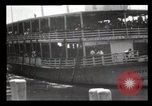 Image of Immigrants arriving at Ellis Island New York City USA, 1903, second 10 stock footage video 65675040610