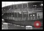 Image of Immigrants arriving at Ellis Island New York City USA, 1903, second 14 stock footage video 65675040610