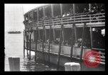 Image of Immigrants arriving at Ellis Island New York City USA, 1903, second 35 stock footage video 65675040610