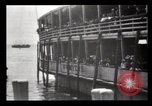 Image of Immigrants arriving at Ellis Island New York City USA, 1903, second 38 stock footage video 65675040610