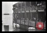 Image of Immigrants arriving at Ellis Island New York City USA, 1903, second 42 stock footage video 65675040610