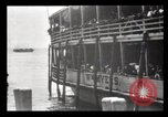 Image of Immigrants arriving at Ellis Island New York City USA, 1903, second 44 stock footage video 65675040610