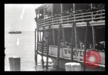 Image of Immigrants arriving at Ellis Island New York City USA, 1903, second 48 stock footage video 65675040610