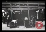 Image of Immigrants arriving at Ellis Island New York City USA, 1903, second 56 stock footage video 65675040610