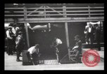 Image of Immigrants arriving at Ellis Island New York City USA, 1903, second 57 stock footage video 65675040610