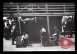 Image of Immigrants arriving at Ellis Island New York City USA, 1903, second 58 stock footage video 65675040610