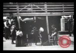 Image of Immigrants arriving at Ellis Island New York City USA, 1903, second 60 stock footage video 65675040610