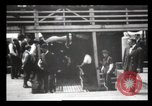 Image of Immigrants arriving at Ellis Island New York City USA, 1903, second 62 stock footage video 65675040610
