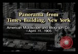 Image of Times Building New York City USA, 1905, second 1 stock footage video 65675040613