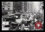 Image of Lower Broadway New York City USA, 1903, second 18 stock footage video 65675040615