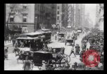 Image of Lower Broadway New York City USA, 1903, second 19 stock footage video 65675040615